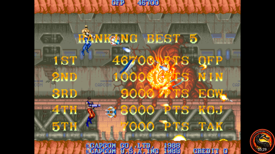 omargeddon: Forgotten Worlds (Arcade Emulated / M.A.M.E.) 46,700 points on 2020-10-15 21:36:33