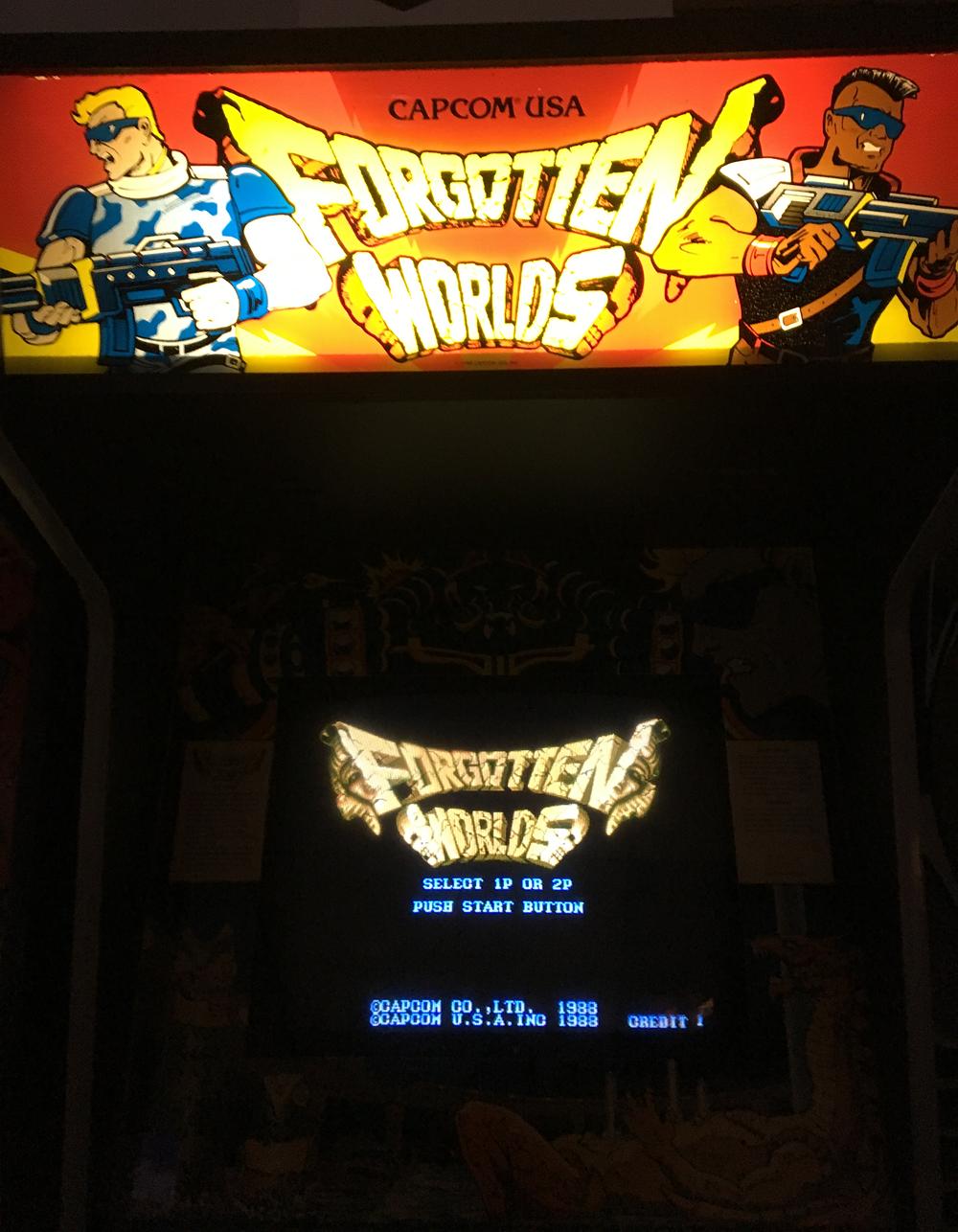Forgotten Worlds 43,000 points