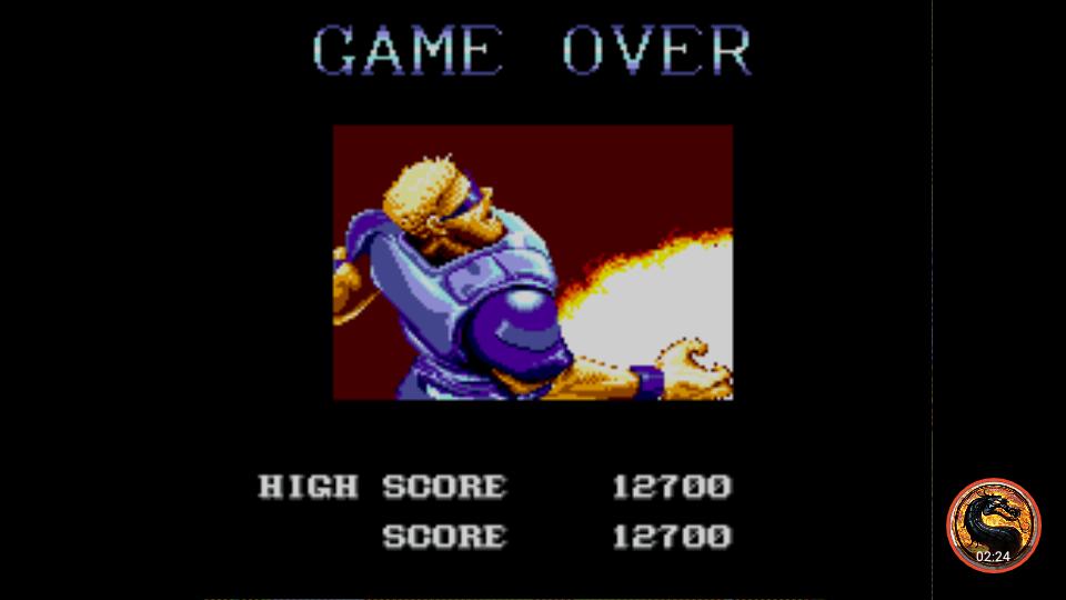 omargeddon: Forgotten Worlds [Hard] (Sega Master System Emulated) 12,700 points on 2019-02-03 15:32:58