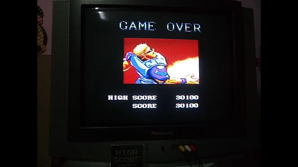 omargeddon: Forgotten Worlds [Normal] (Sega Master System) 30,100 points on 2019-03-21 17:58:01