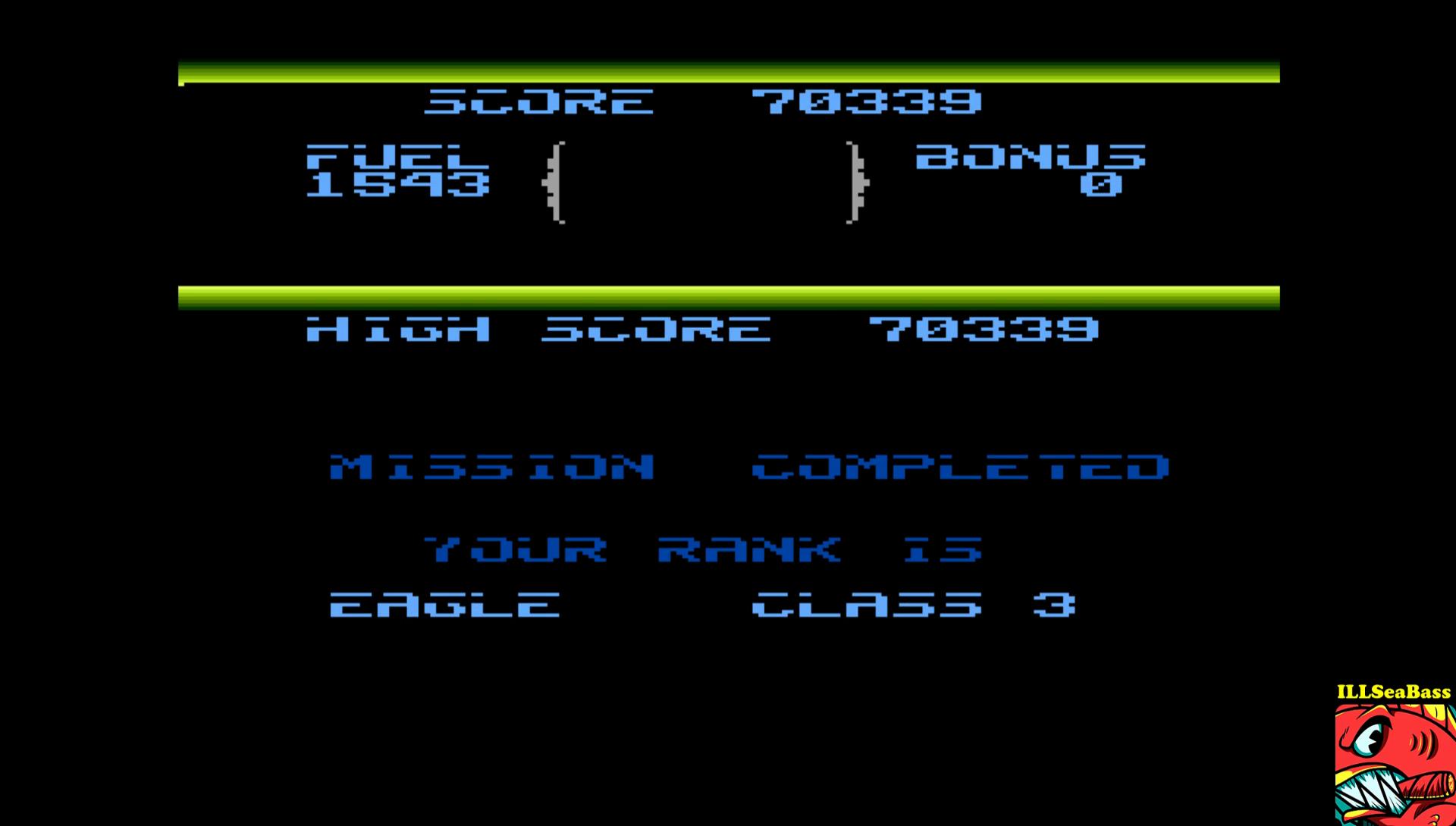 ILLSeaBass: Fort Apocalypse (Atari 400/800/XL/XE Emulated) 70,339 points on 2017-01-27 20:38:53