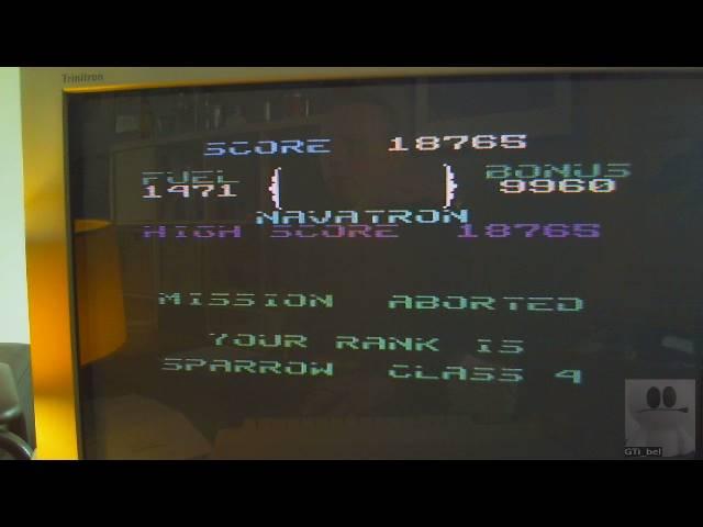 GTibel: Fort Apocalypse (Commodore 64) 18,765 points on 2019-03-26 07:38:05