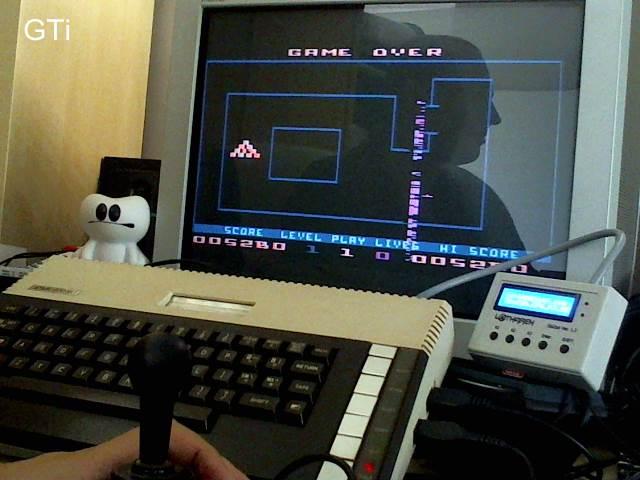 GTibel: Fortune Hunter [Start Level: 1] (Atari 400/800/XL/XE) 5,280 points on 2017-09-24 02:04:13