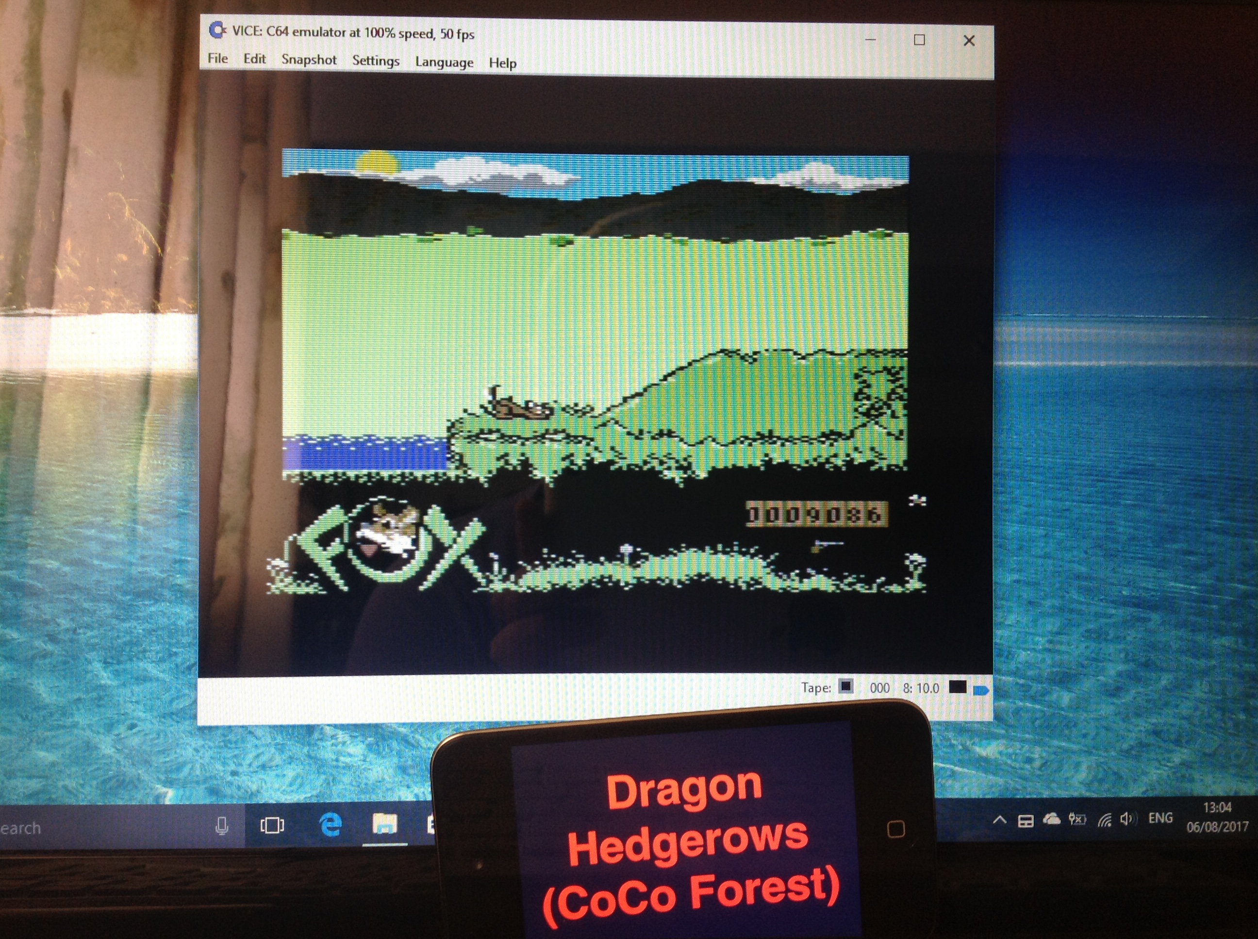 CoCoForest: Fox Fights Back (Commodore 64 Emulated) 9,086 points on 2017-08-06 08:21:27