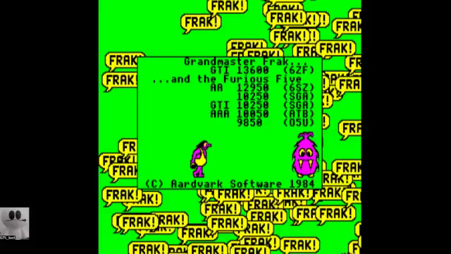 GTibel: Frak! (BBC Micro Emulated) 13,600 points on 2017-11-16 04:12:35
