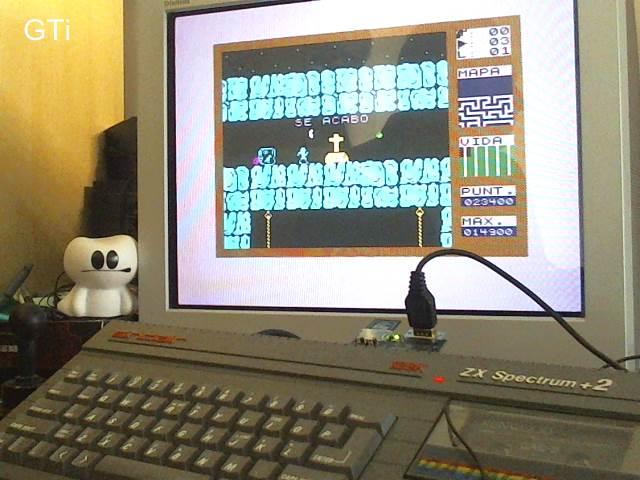 GTibel: Fred (ZX Spectrum) 23,400 points on 2017-08-15 05:48:55