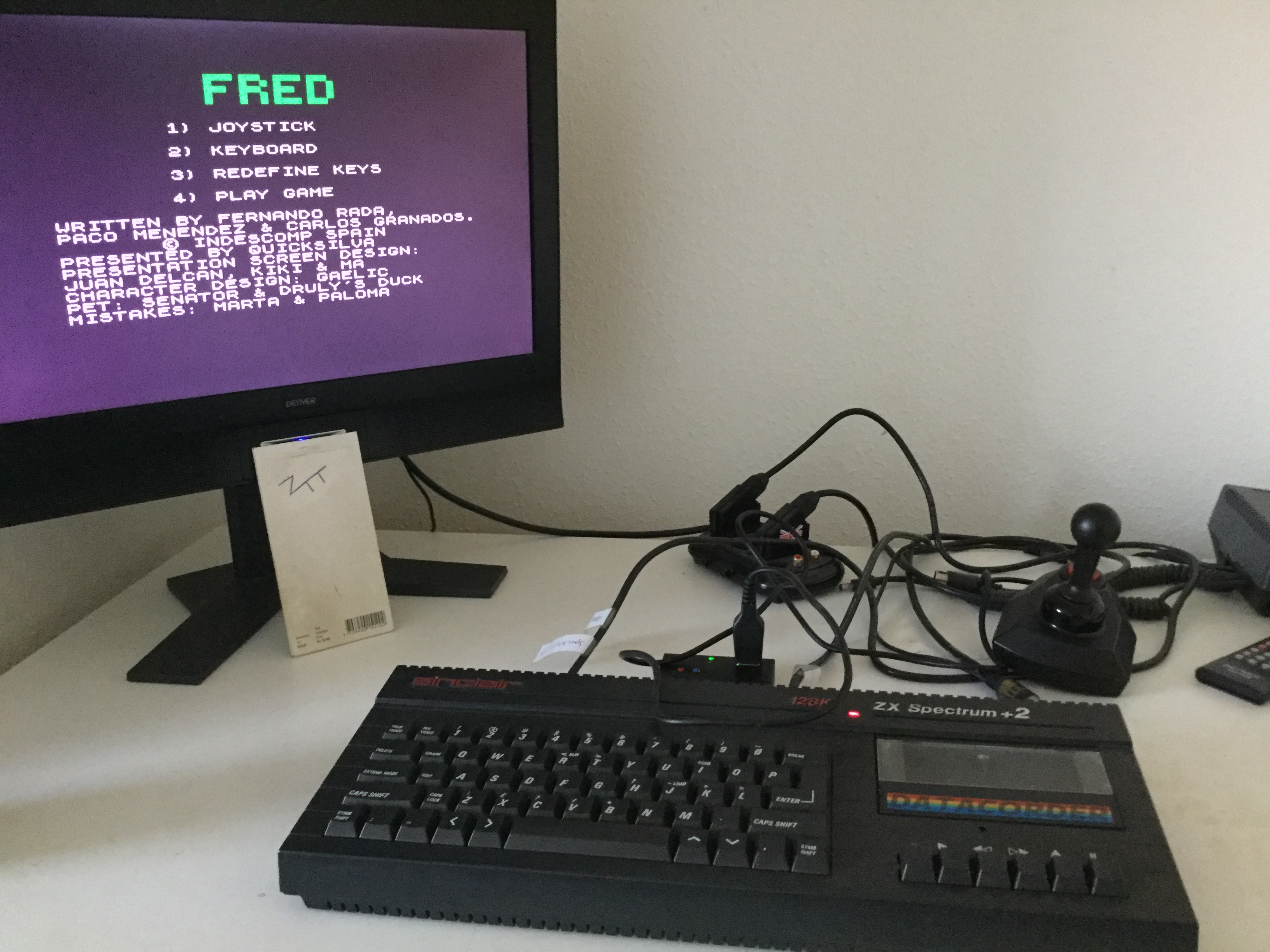 Frankie: Fred (ZX Spectrum) 37,800 points on 2019-12-01 04:18:39