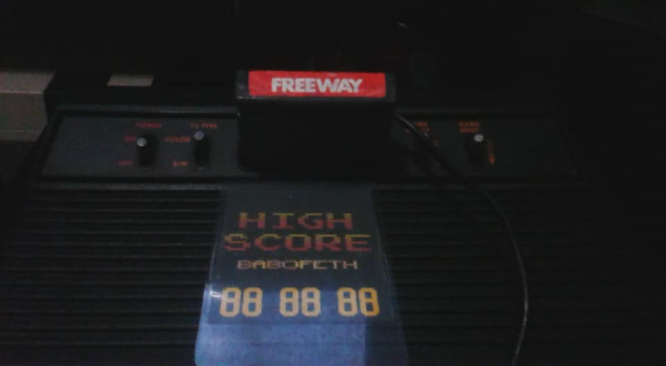 Freeway: Game 1 32 points