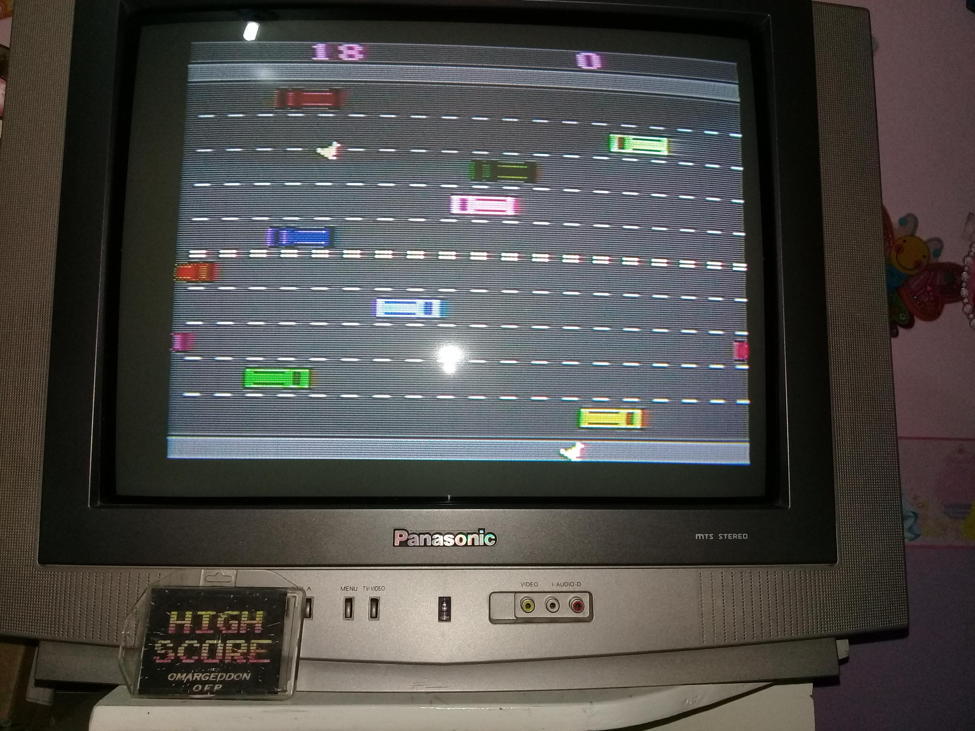 omargeddon: Freeway: Game 8 (Atari 2600 Novice/B) 18 points on 2019-03-20 19:43:09