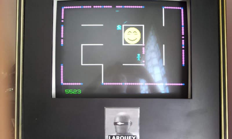 Larquey: Frenzy (Arcade Emulated / M.A.M.E.) 5,673 points on 2018-05-21 08:36:09