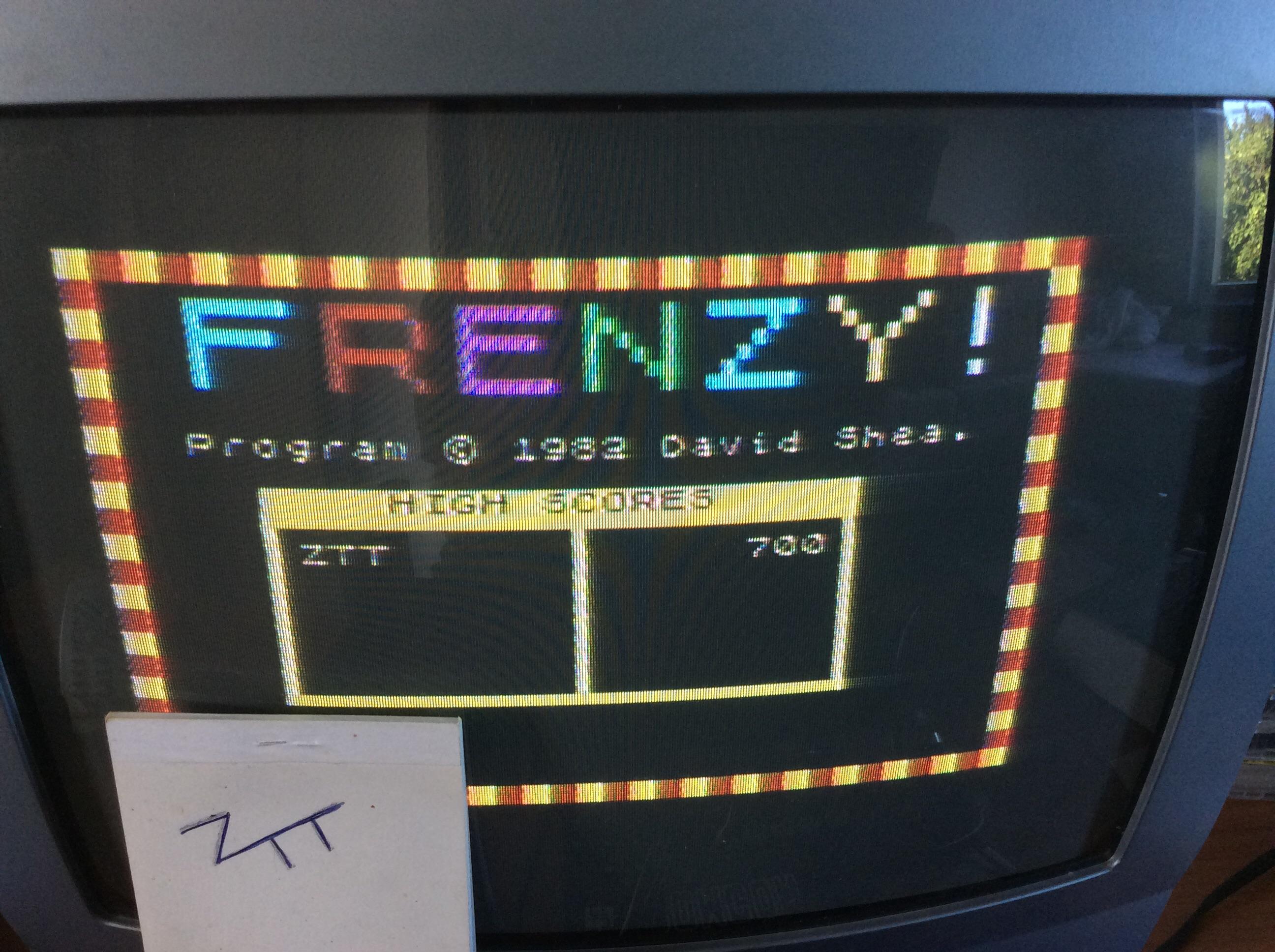 Frankie: Frenzy [Quicksilva] (ZX Spectrum) 700 points on 2016-08-17 11:10:27
