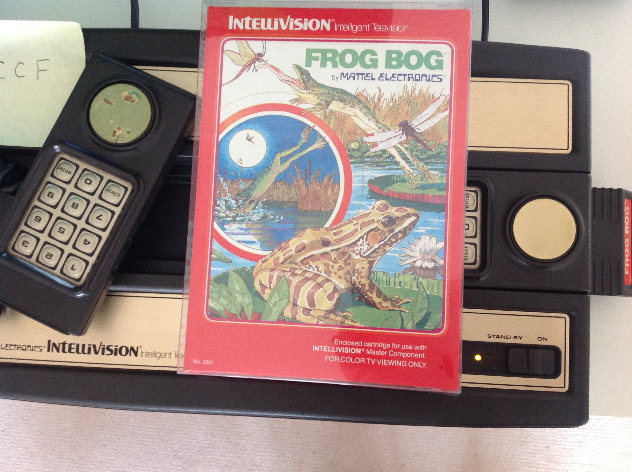 CoCoForest: Frog Bog [Dir. & Tongue] (Intellivision) 335 points on 2018-08-01 13:46:43