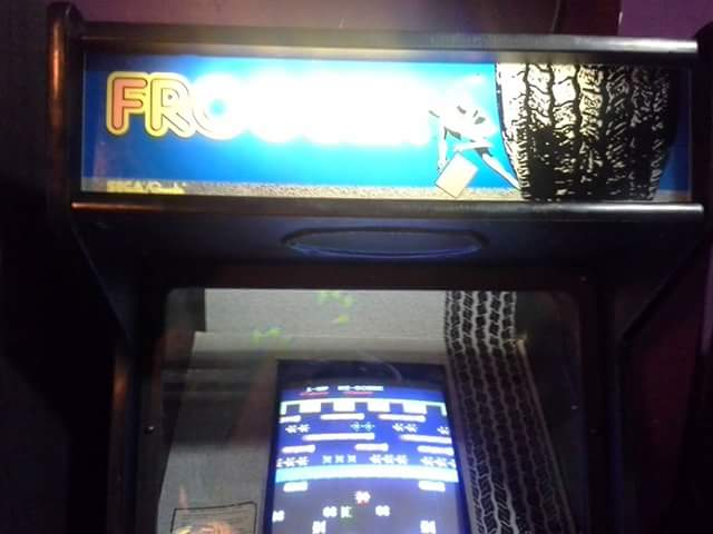 Frogger 5,600 points