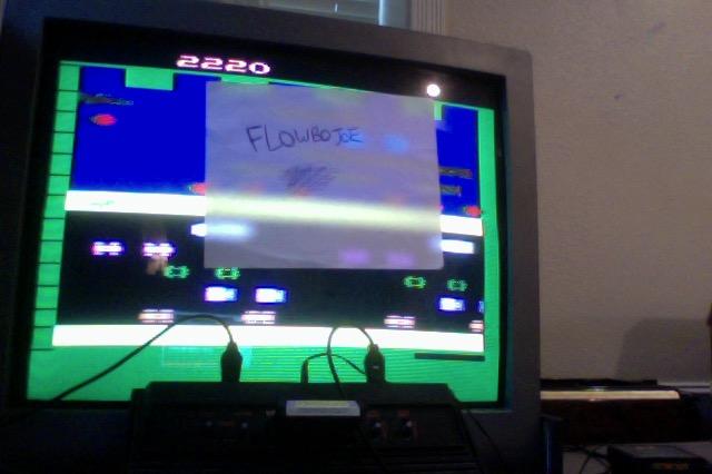 FlowboJoe: Frogger (Atari 2600 Novice/B) 2,220 points on 2018-01-05 13:20:50