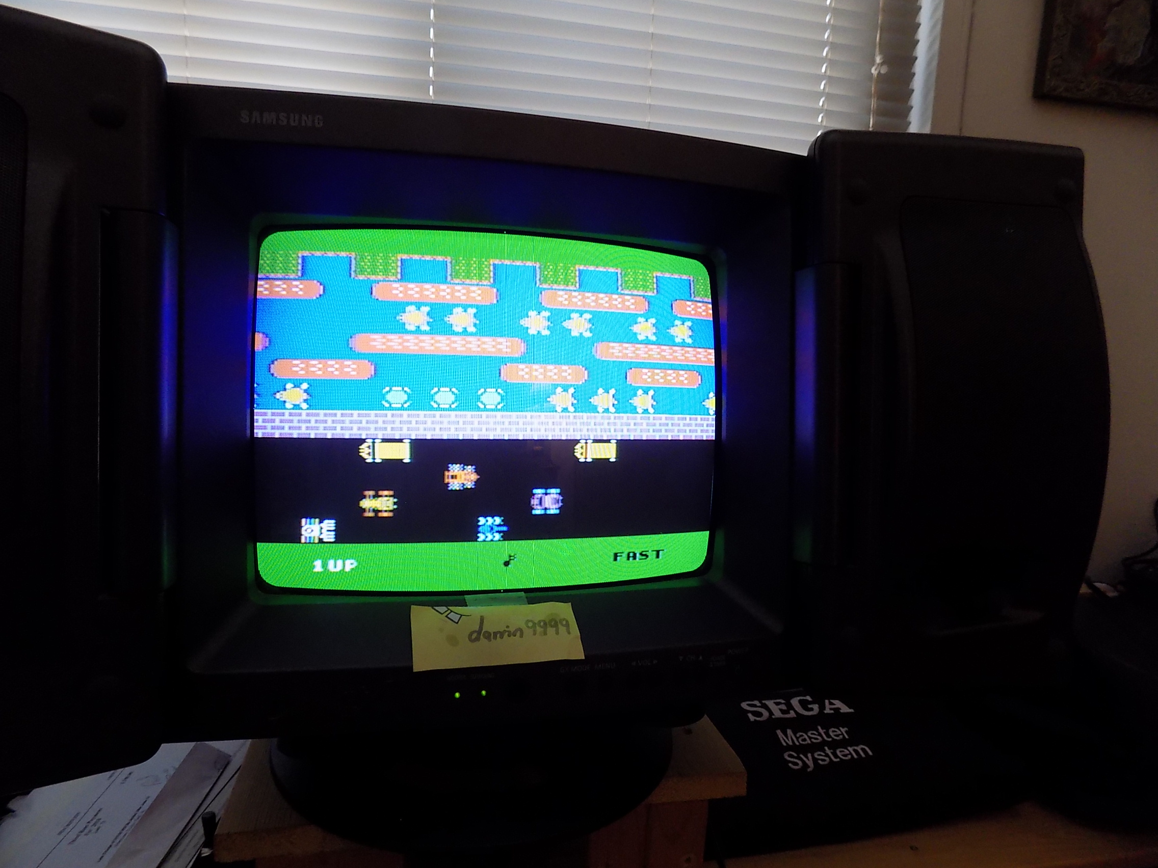 darrin9999: Frogger (Colecovision) 8,690 points on 2018-07-18 09:36:32