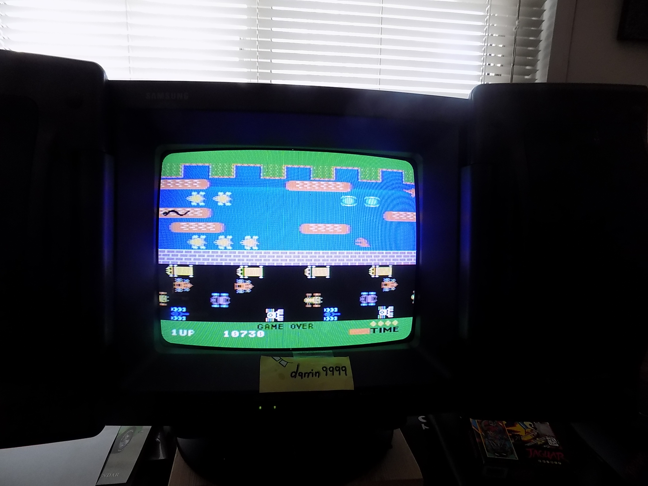darrin9999: Frogger (Colecovision) 10,730 points on 2019-03-16 12:41:16
