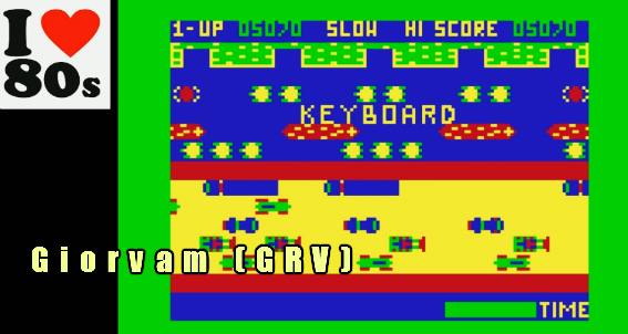 Giorvam: Frogger (Dragon 32/64 Emulated) 5,070 points on 2018-02-10 12:26:13