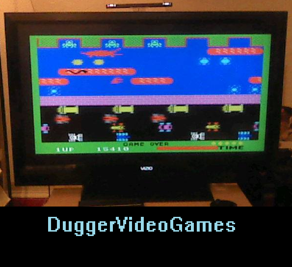 DuggerVideoGames: Frogger [Fast] (Colecovision Emulated) 15,410 points on 2016-03-27 23:57:01