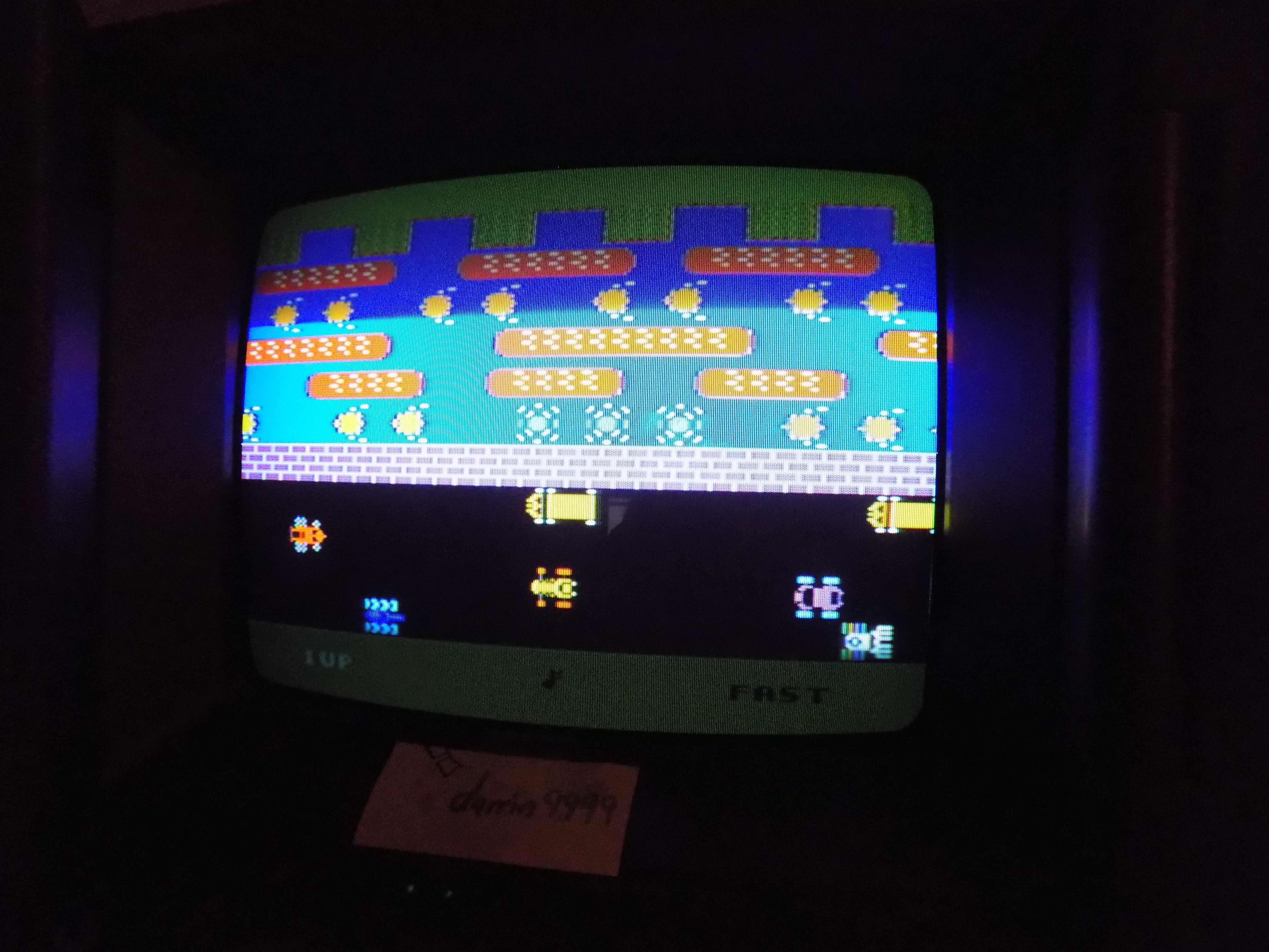 darrin9999: Frogger [Fast] (Colecovision) 12,540 points on 2017-01-17 22:56:31