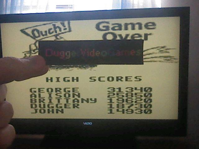 DuggerVideoGames: Frogger (Game Boy Emulated) 18,730 points on 2017-12-07 12:11:46