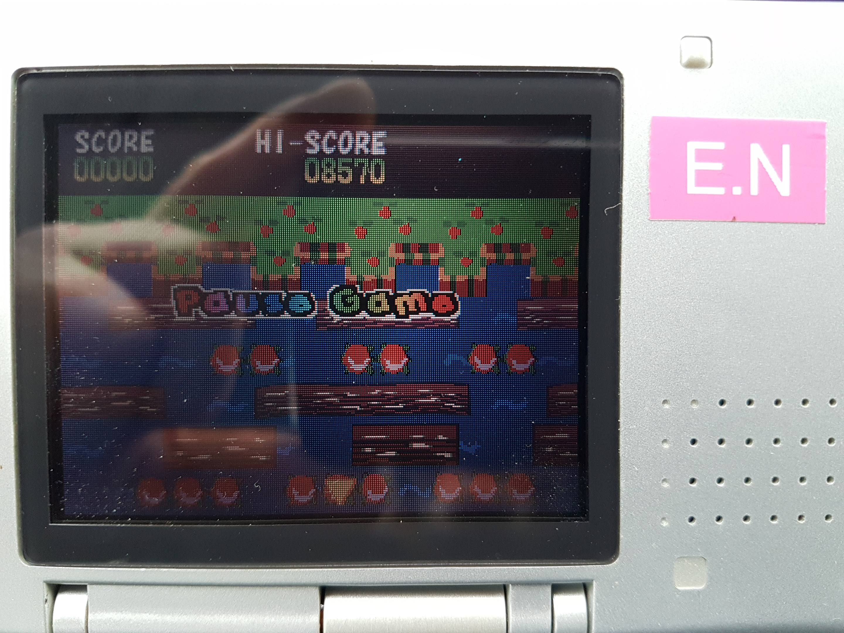 EddieNiceguy: Frogger Helmet Chaos: Mini Games: Frogger Classic (Nintendo DS) 8,570 points on 2019-02-08 05:44:10