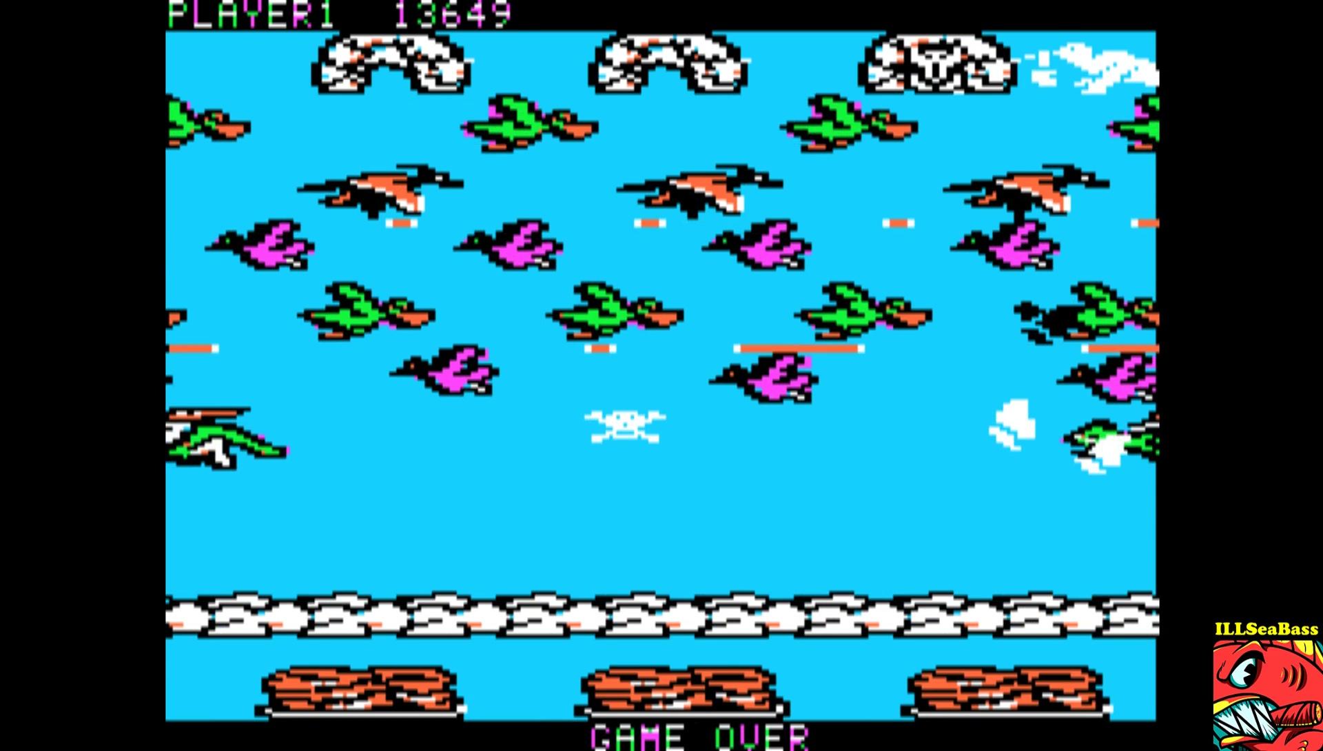ILLSeaBass: Frogger II: Threedeep (Apple II Emulated) 13,649 points on 2017-02-21 10:07:41