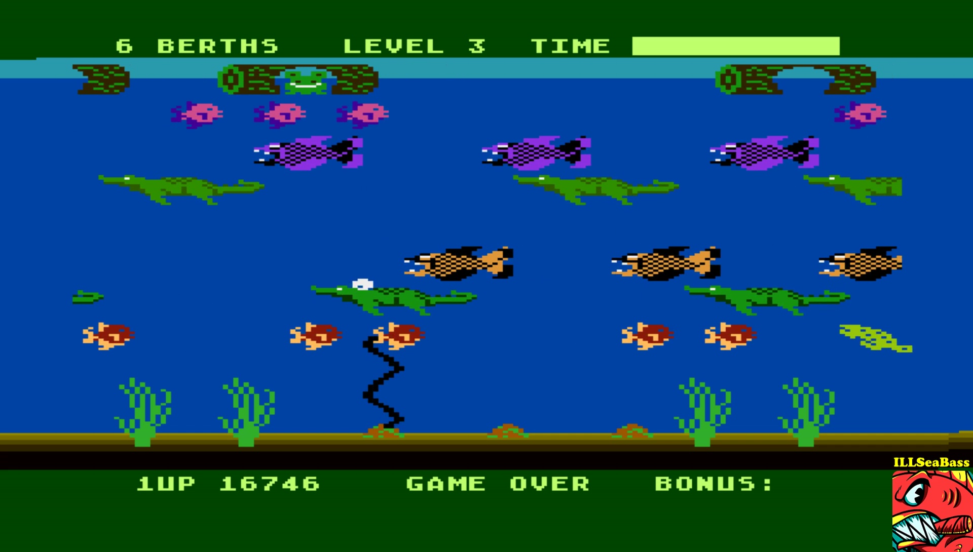 Frogger II: Threedeep 16,746 points