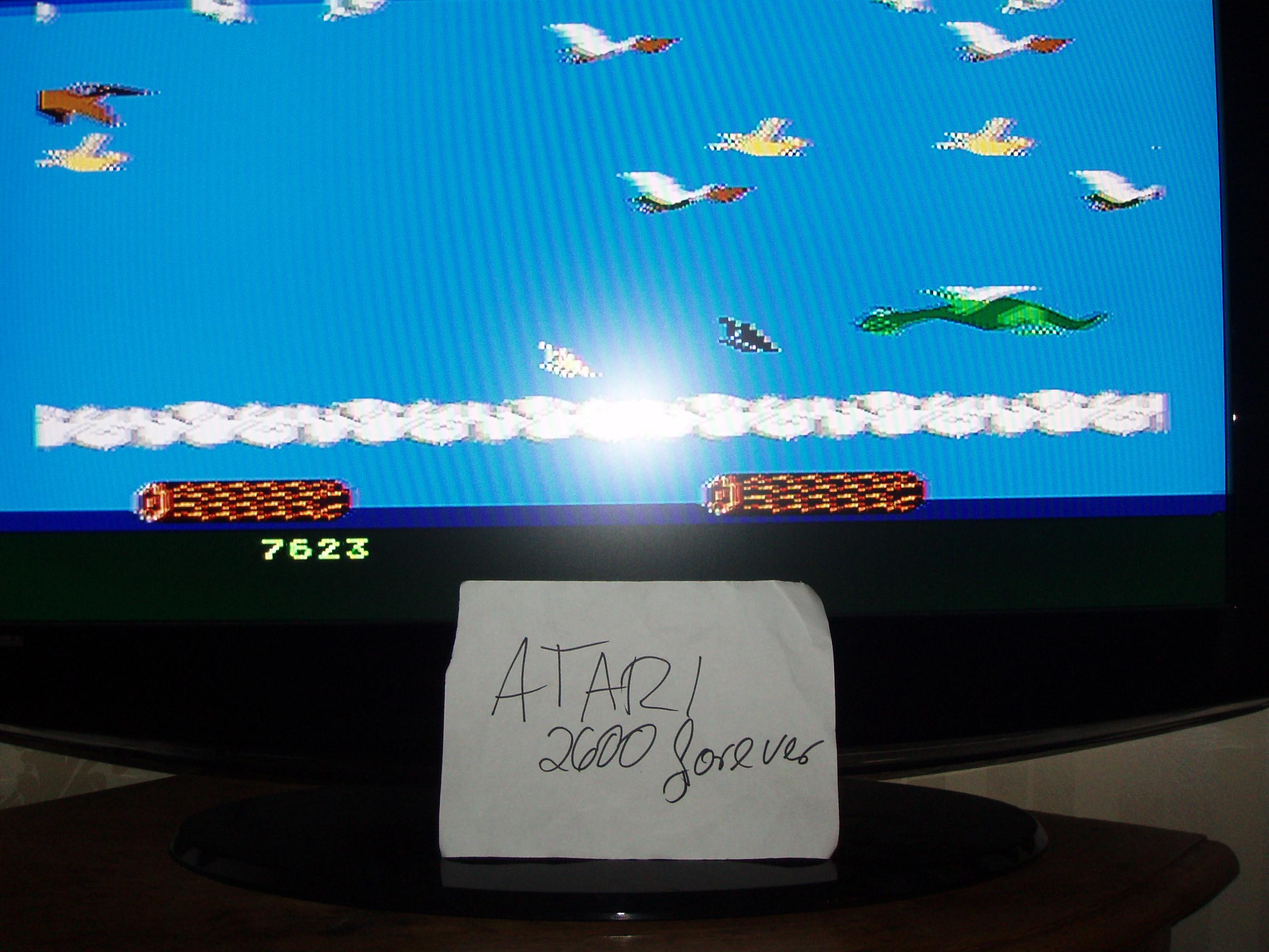 atari2600forever: Frogger II: Threedeep (Atari 5200) 7,623 points on 2018-11-09 03:13:07