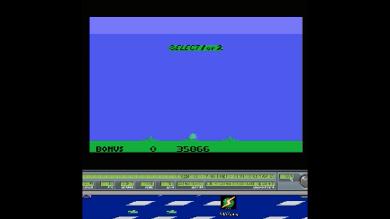 S.BAZ: Frogger II: Threedeep (Colecovision Emulated) 35,866 points on 2018-11-05 15:00:57