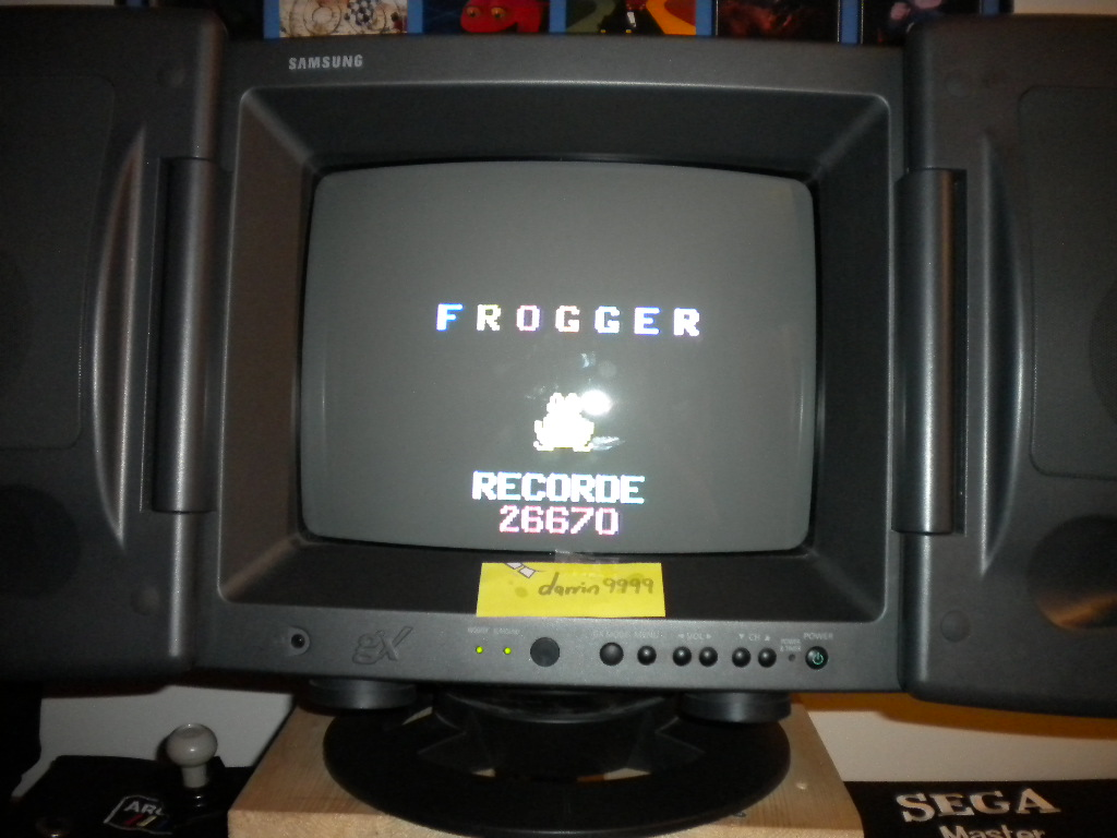Frogger 26,670 points