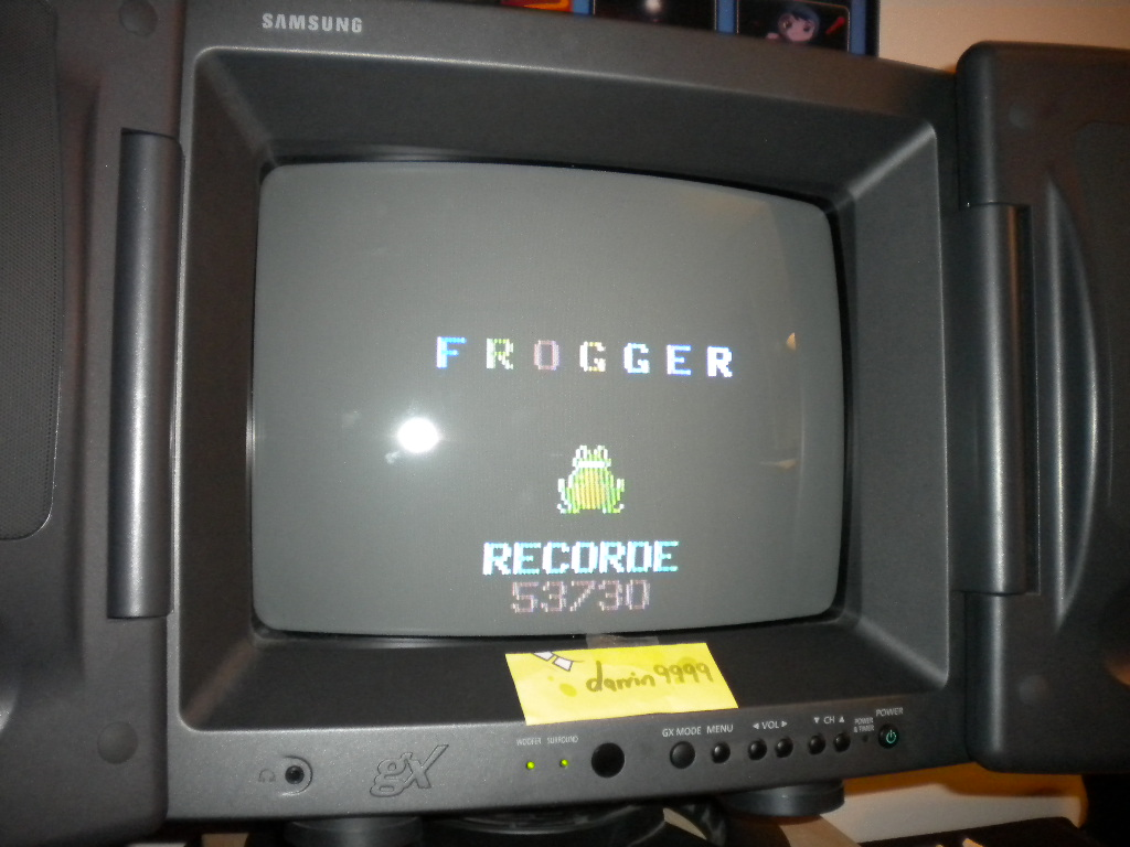 Frogger 53,730 points