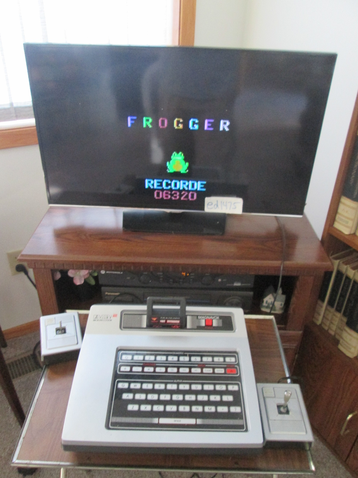 ed1475: Frogger (Odyssey 2 / Videopac) 6,320 points on 2016-10-07 19:04:55
