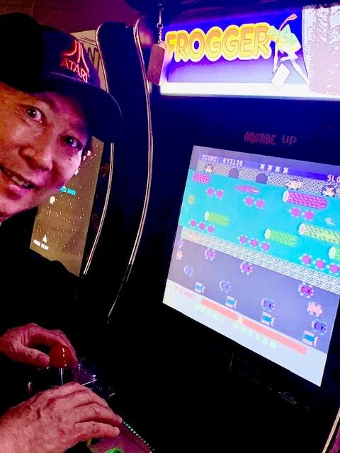 chuckatari: Frogger [Parker Bros] (Atari 400/800/XL/XE) 103,055 points on 2020-07-29 19:01:01