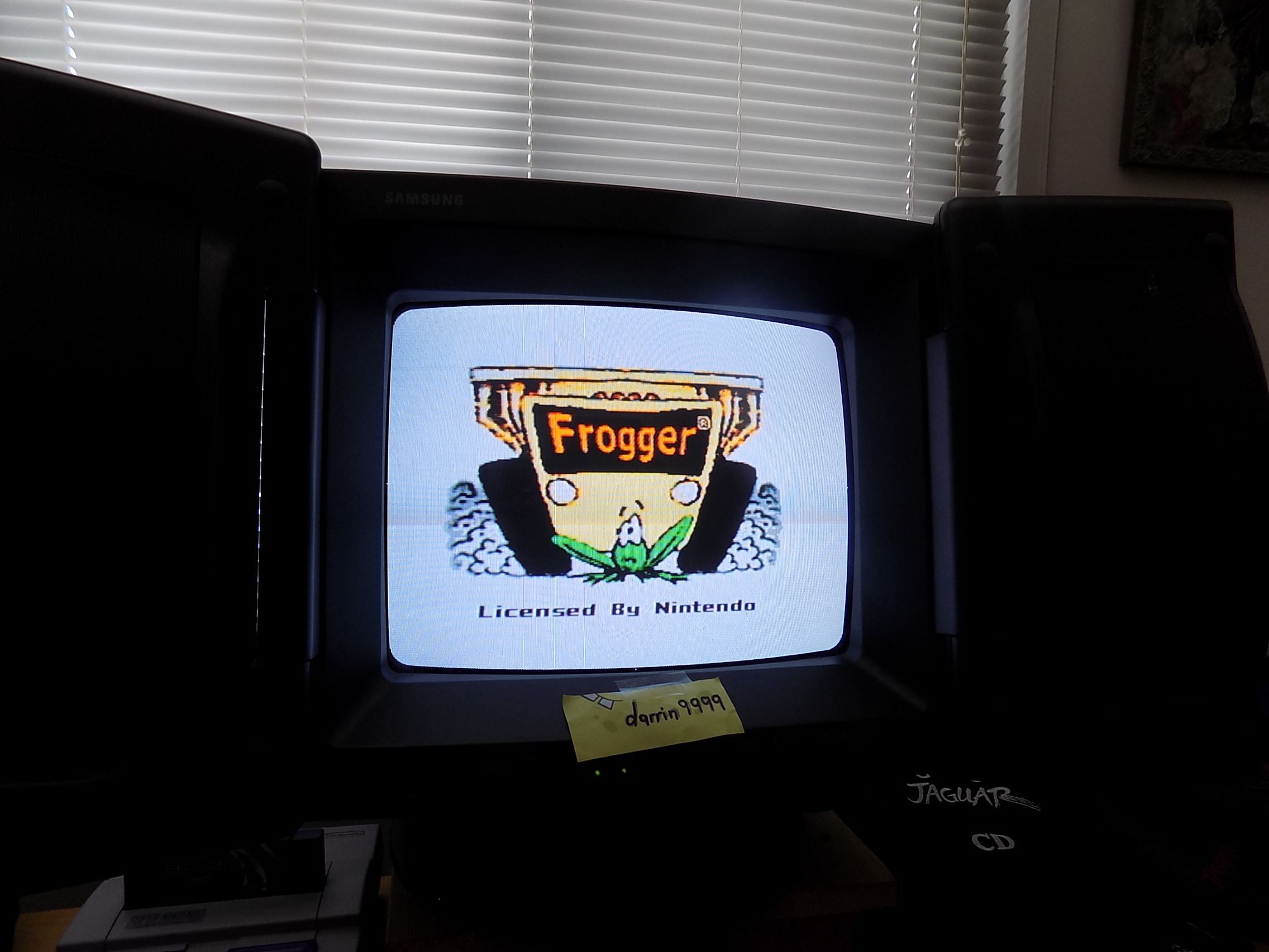 Frogger 17,110 points