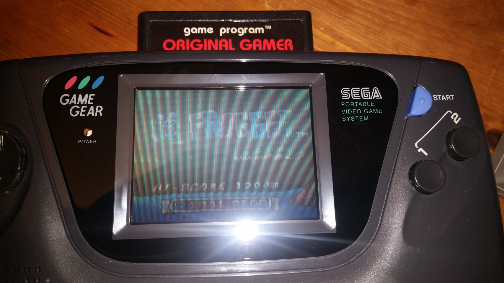 OriginalGamer: Frogger (Sega Game Gear) 120,400 points on 2018-03-24 22:42:04