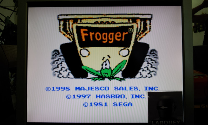 Larquey: Frogger (Sega Genesis / MegaDrive Emulated) 13,010 points on 2017-04-23 08:33:50