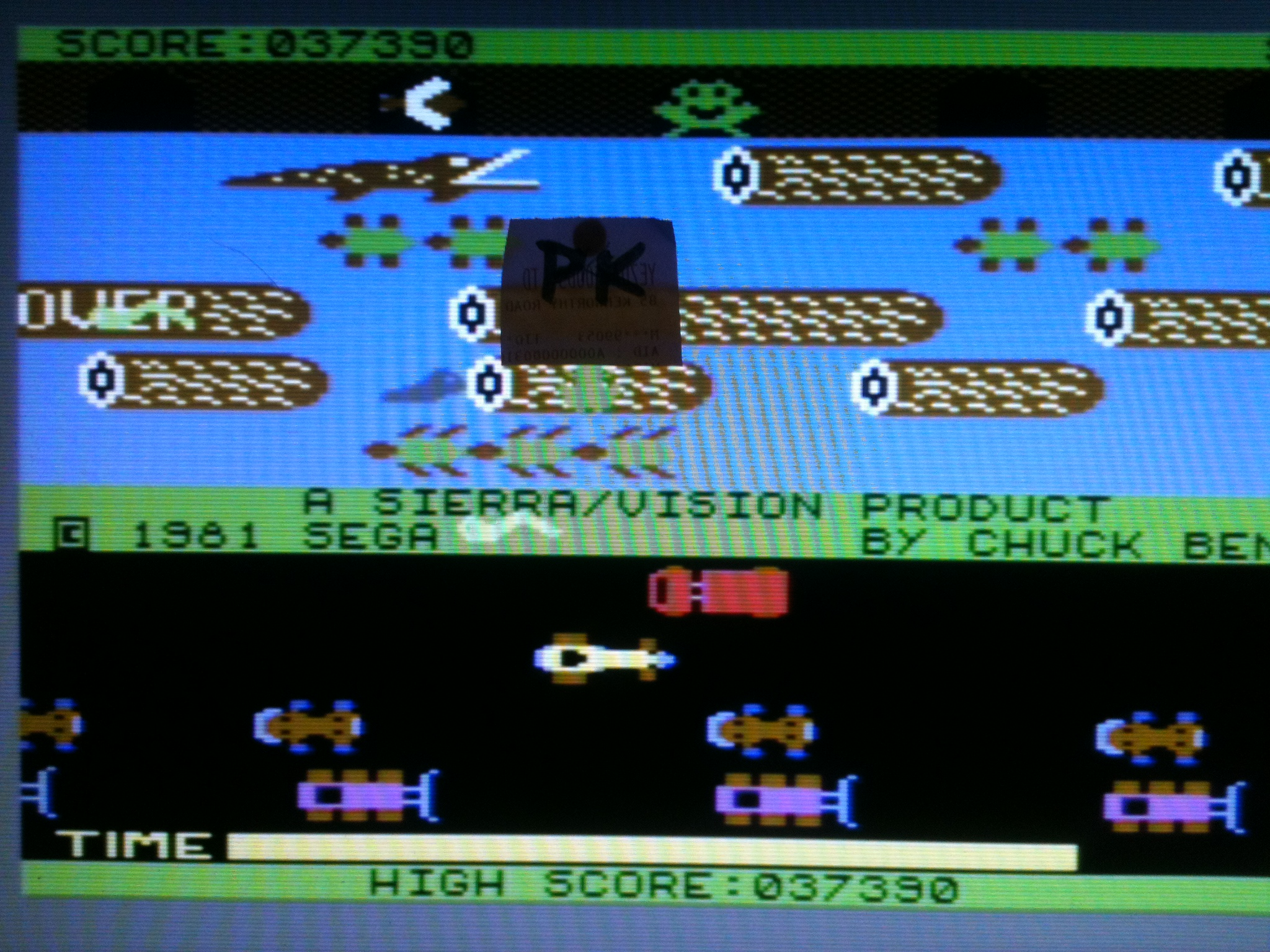 kernzy: Frogger: Sierra (Commodore 64) 37,390 points on 2015-12-12 09:28:52