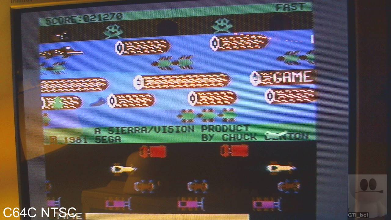 Frogger: Sierra 21,270 points