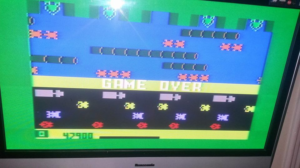 doguhnew: Frogger: Skill 1 (Intellivision) 47,900 points on 2017-11-13 17:15:02