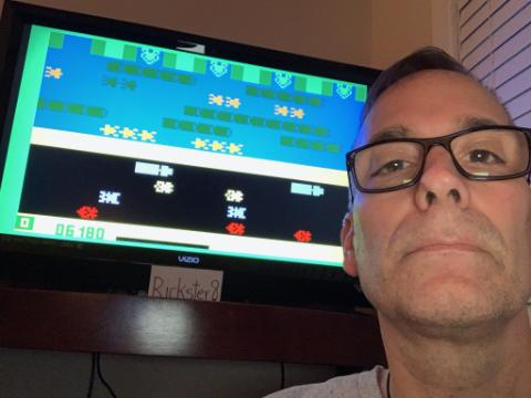 Rickster8: Frogger: Skill 4 (Intellivision Emulated) 6,180 points on 2020-09-21 23:43:01