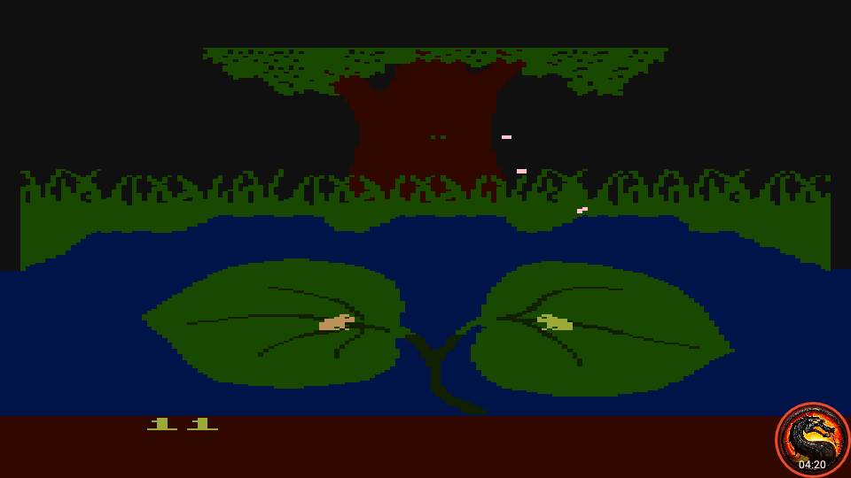 omargeddon: Frogs And Flies [Easy Game] (Atari 400/800/XL/XE Emulated) 11 points on 2020-06-20 00:05:20