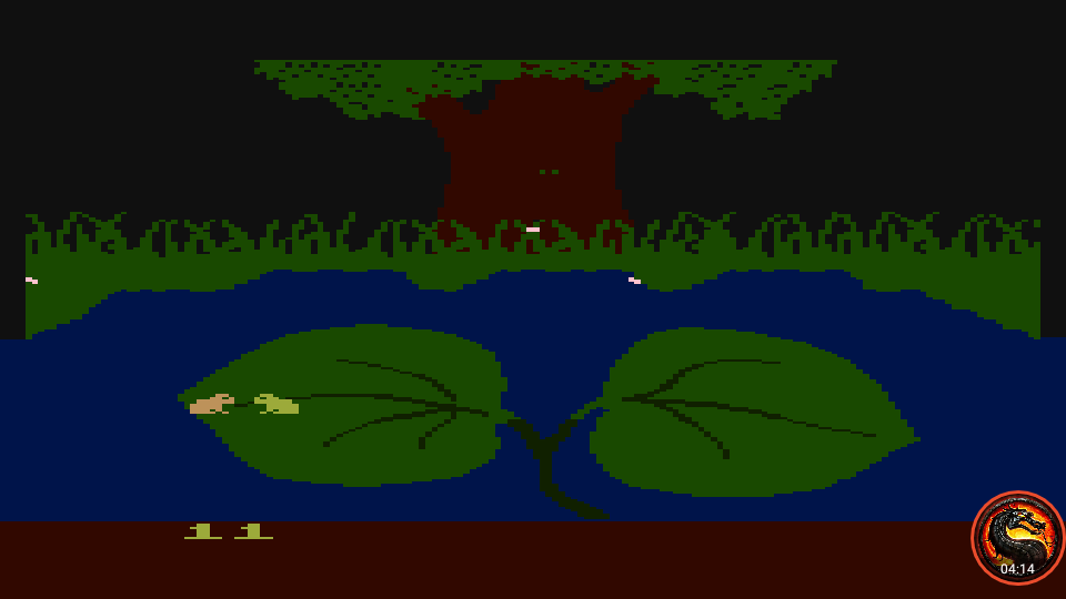 omargeddon: Frogs And Flies [Normal Game] (Atari 400/800/XL/XE Emulated) 11 points on 2020-06-20 00:02:24