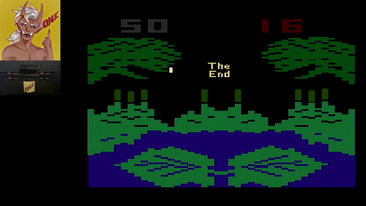 OniDensetsu: Frogs and Flies (Atari 2600 Expert/A) 50 points on 2021-02-16 01:02:55