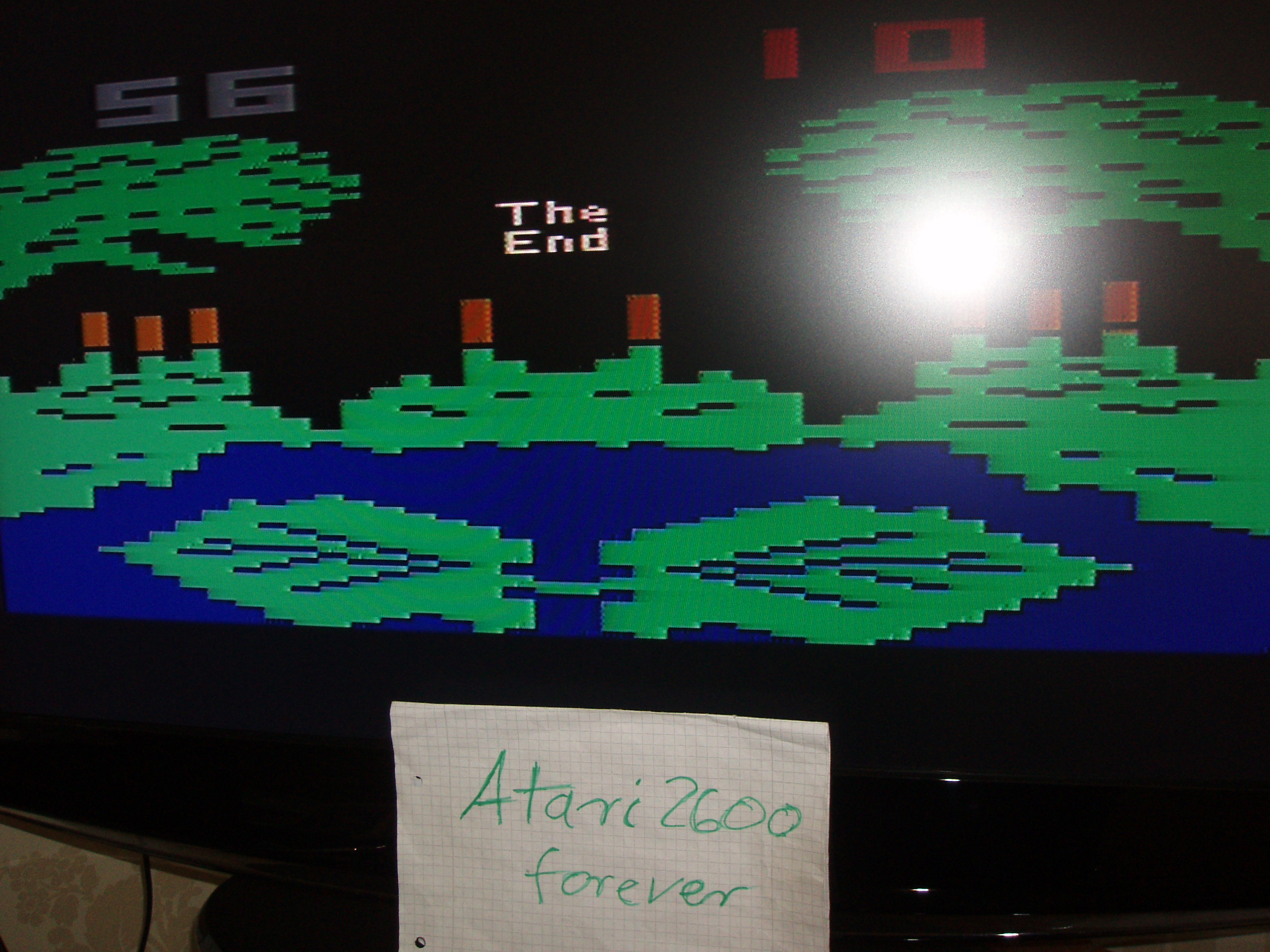atari2600forever: Frogs and Flies (Atari 2600 Novice/B) 56 points on 2017-04-15 05:00:33