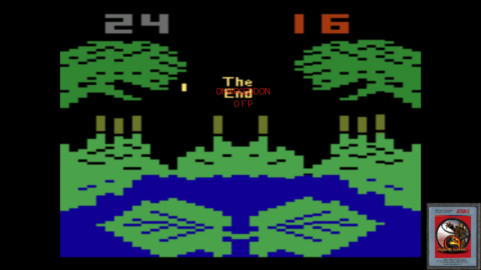 omargeddon: Frogs and Flies (Atari 2600 Emulated Expert/A Mode) 24 points on 2017-02-11 17:45:38