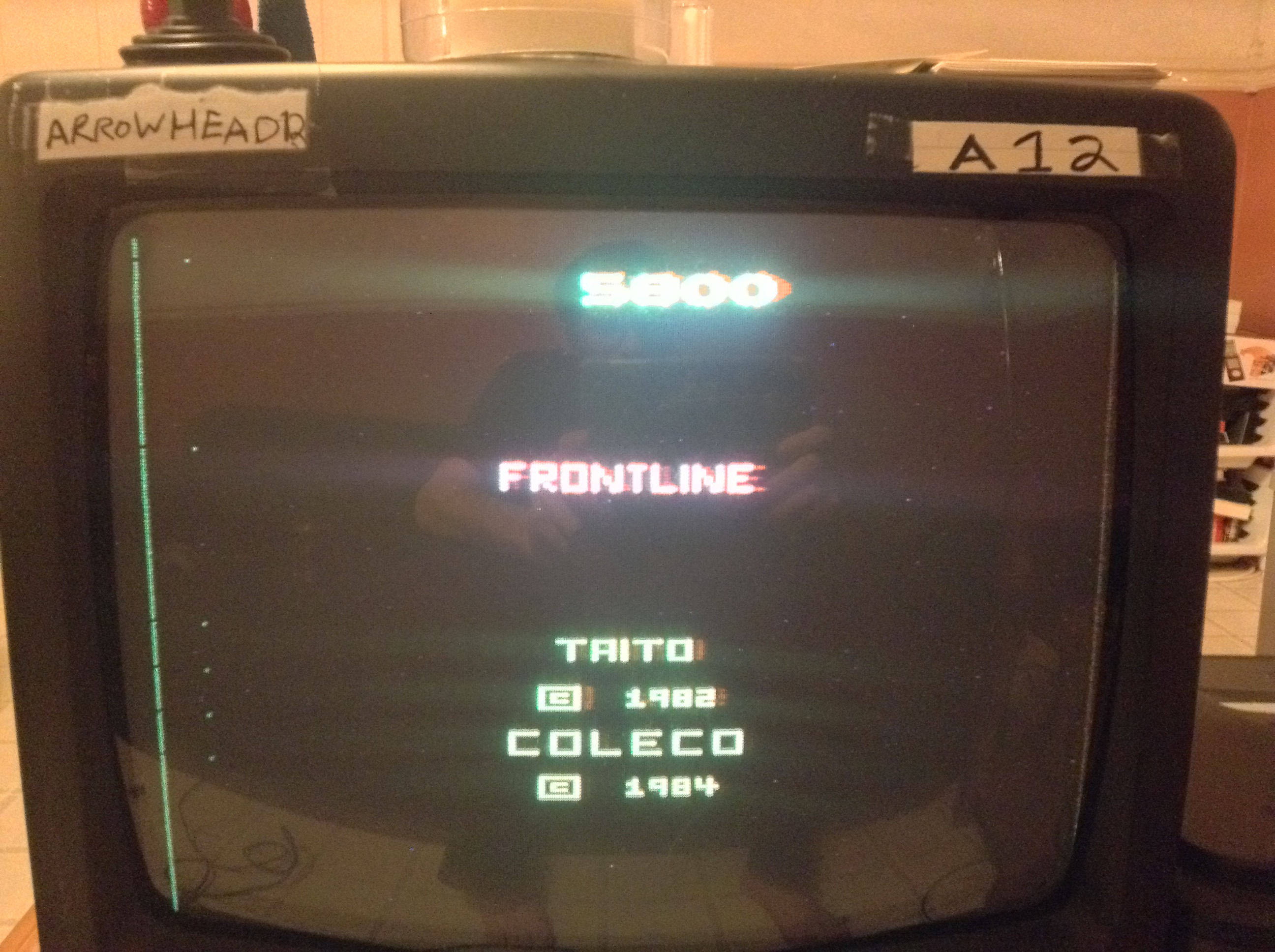Arrowhead12: Front Line (Atari 2600 Novice/B) 5,800 points on 2019-01-05 01:37:27