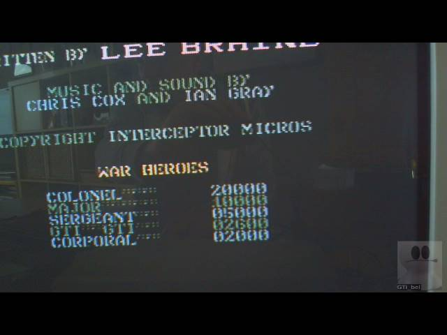 GTibel: Front Line [Interceptor Micros] (Commodore 64) 2,600 points on 2019-05-18 02:30:49