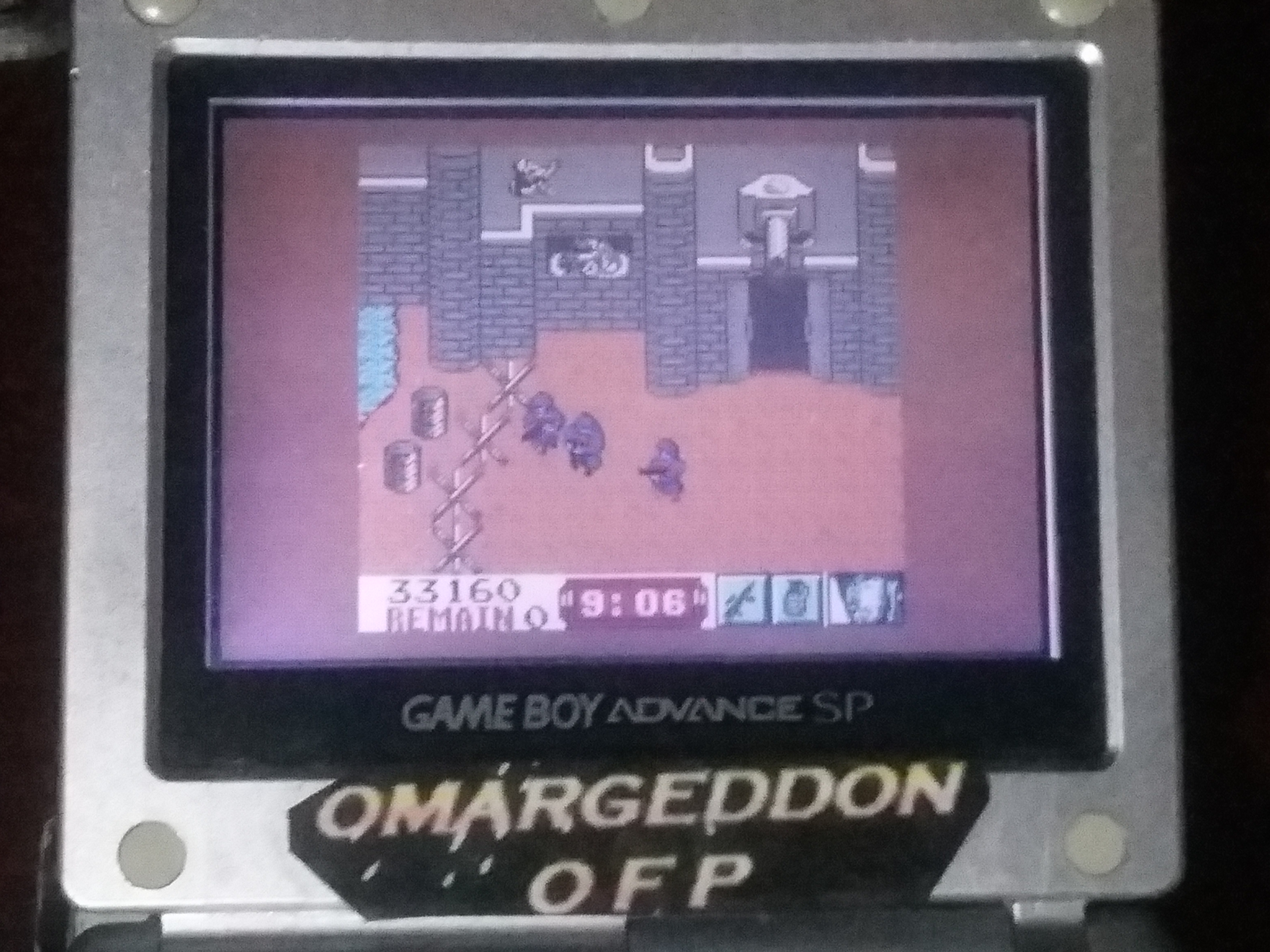 omargeddon: Front Line: The Next Mission (Game Boy Color) 33,160 points on 2018-01-19 20:51:02