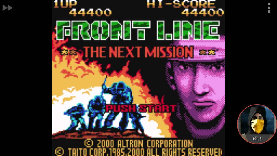 omargeddon: Front Line: The Next Mission (Game Boy Color Emulated) 44,400 points on 2018-01-19 21:14:51