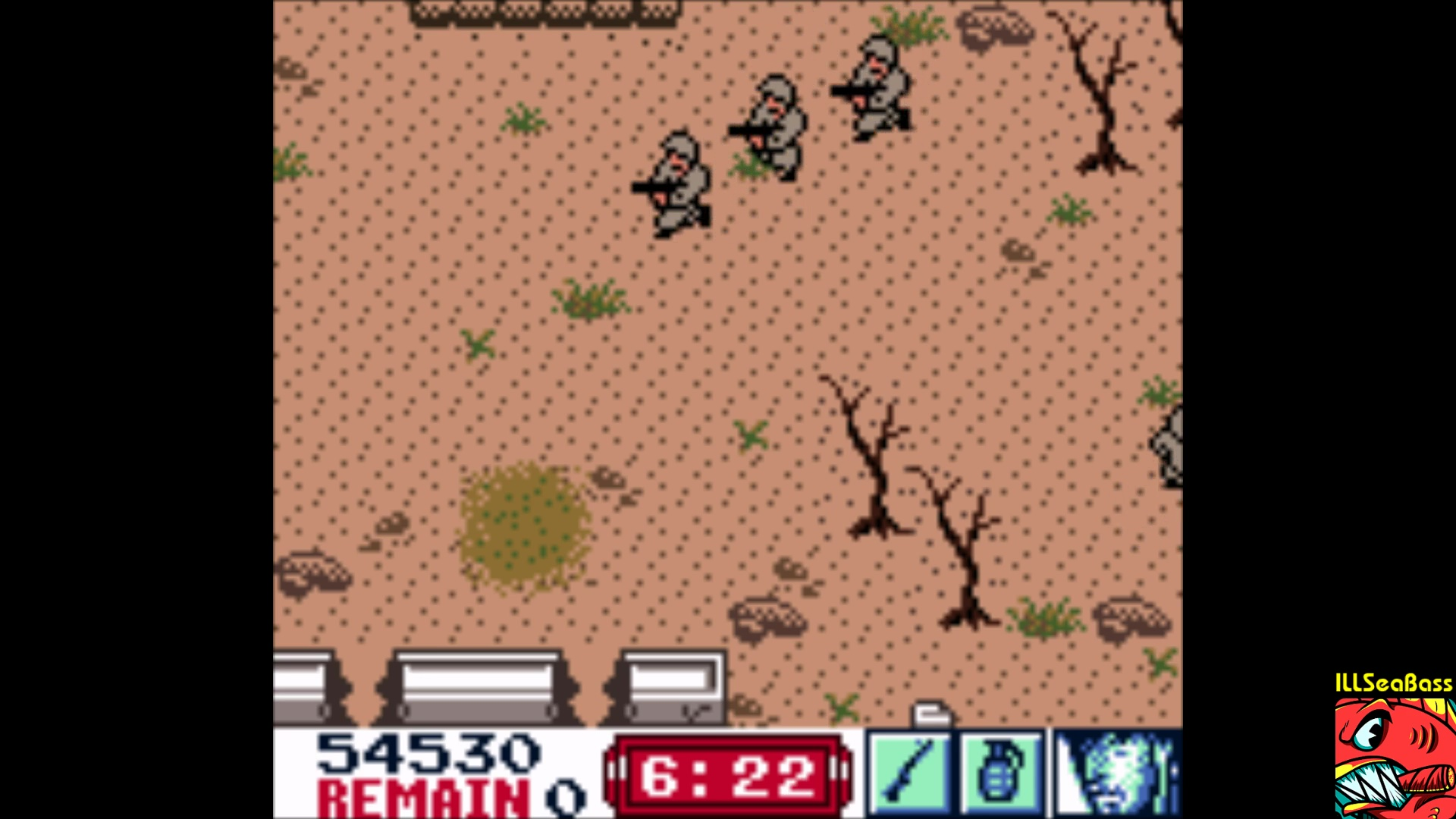 ILLSeaBass: Front Line: The Next Mission (Game Boy Color Emulated) 54,530 points on 2018-01-20 00:57:26